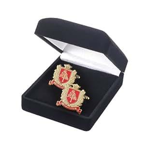 Pair of Highland Titles Crest cuff-links
