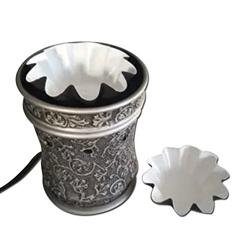 Wax Warmer Liners - BEST NEW ACCESSORY for Electric Wax Warmers & wax melts. REUSABLE LEAKPROOF -Change your scented wax cubes quick and easy. Wax Melters stay looking like new.(Brown Large, 8)