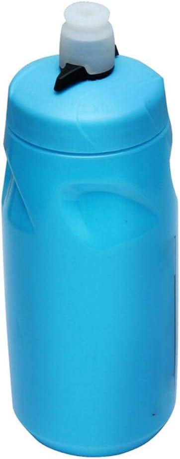 Poapo Botella exprimible Reutilizable de 620 ml, Botella de Silicona para Beber, Botella de Bebida Ligera sin BPA, Enrollable, a Prueba de Fugas, Ideal para Batidos