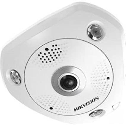 Hikvision DS-2CD6362F-I Network Surveillance Camera 1.27mm Lens 6 MP 3072 X 2048 White Dome Cameras at amazon
