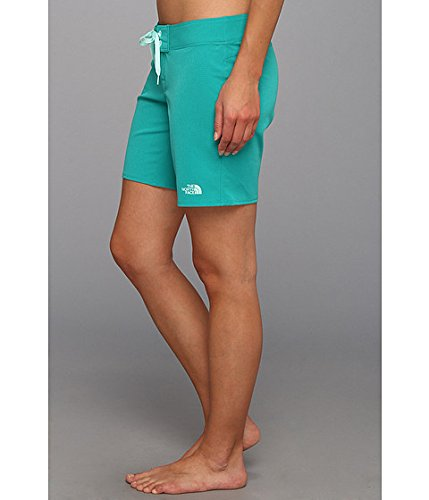 ae1dca0fe5 THE NORTH FACE Women's Pacific Creek Boardshort Long Jaiden Green/Jaiden  Green/Beach Glass Green 6: Amazon.ca: Clothing & Accessories