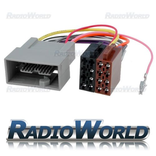 Honda Accord Jazz Fit ISO Wiring Harness Lead Loom Connector Adaptor PC2-110-4: Amazon.co.uk: Electronics