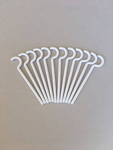 Alumahangers  Round (12Pk) Alumahooks. for Light Weight Items. Solid Alumawood Non-Insulated patios. Hang Costco Lights or String Lighting Decorate Patio. No Screws, No Holes, No Problem