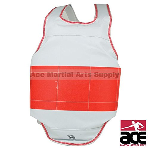 Reversible Chest Guard Stripe - Child Large Ace Martial Arts Supply