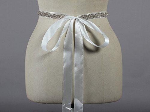 Per Formiche Cinghia Del Da Telaio Da Il Cristallo Sposa Bianco Di Vestito Perline Sposa Di Donne Delle zzFrdqwYx