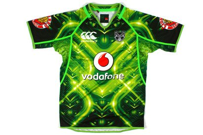 the best attitude a9c5a 6c73f New Zealand Warriors NRL 2014 High Voltage Training Jersey Green
