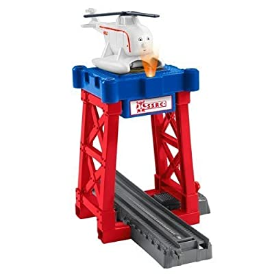 Fisher-Price Thomas & Friends TrackMaster, Harold's Helipad: Toys & Games