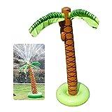 FOONEE Inflatable Splash Sprinkler Coconut Tree Summer Cooling Swim Yard Sprinkler Toy for Kids Babies Play Water in Backyard Swiming Pool Beach Lawn Outdoor