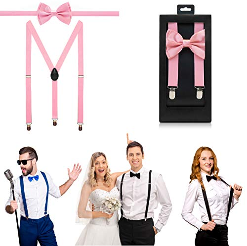 McWay Bowtie and Suspender Set For Men, Adults