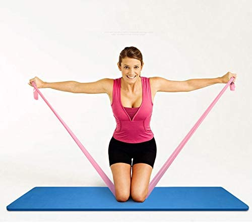 Resistance Band Stretch Tube Loop Gym Fitness Exercise ...