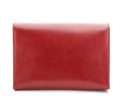 16 4 Colore Cosmetici Vitello In Astuccio Altezza 3 Wittchen 21 Larghezza Cm Pelle 117 Rot Marrone Di 11 Per qwaxZt