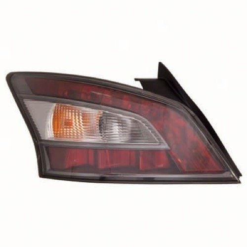 Go-Parts OE Replacement for 2012-2014 Nissan Maxima Rear Tail Light Lamp Assembly/Lens / Cover - Left (Driver) Side 26555-9DA0B NI2800197 for Nissan -