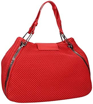 Le Pandorine Donna Borsa Vicky Quilted Fortuna Rosso Mod. 2591-09
