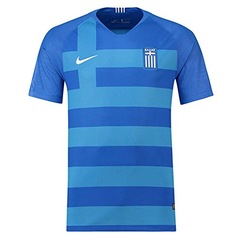 NIKE Greece 2018 Away Jersey- Blue 2XL -