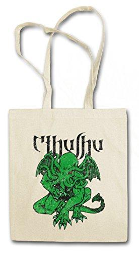 CTHULHU VI Hipster Shopping Cotton Bag Cestas Bolsos Bolsas de la compra reutilizables