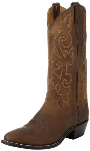"Justin Boots Men's 13"" Western Boot Medium Round Toe,Bay Apa"