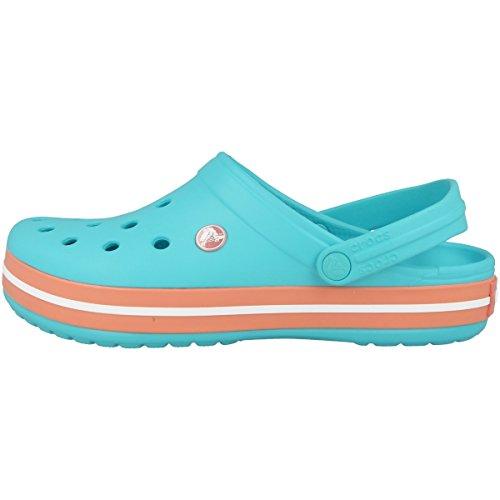 crocs Unisex-Erwachsene Crocband Clogs Blau (Pool)