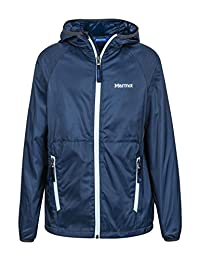 Marmot Ether Boys' Lightweight Hooded Windbreaker Jacket