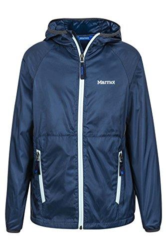 - Marmot Ether Boys' Lightweight Hooded Windbreaker Jacket, Vintage Navy, X-Large