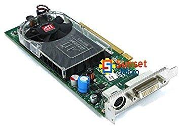 - Dell ATI B276 109-B27631-00 256MB Low Profile PCI-e DVI S-Video Graphics Card