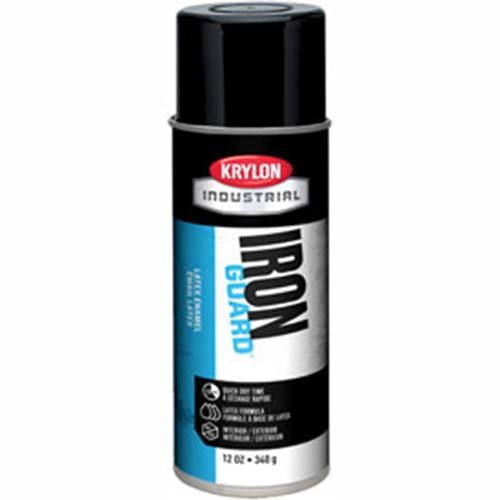 Krylon Industrial Iron Guard Latex Spray Paint Gloss Black - Lot of 12