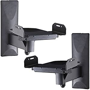 Amazon Com Videosecu One Pair Of Side Clamping Bookshelf