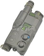 H World Shopping Tactical Airsoft an/ PEQ16 Battery Case DE Dummy AEG with RIS Mount