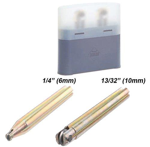 Rubi 2 pcs Wheel Kit TS/TR (6mm,10mm) 01995