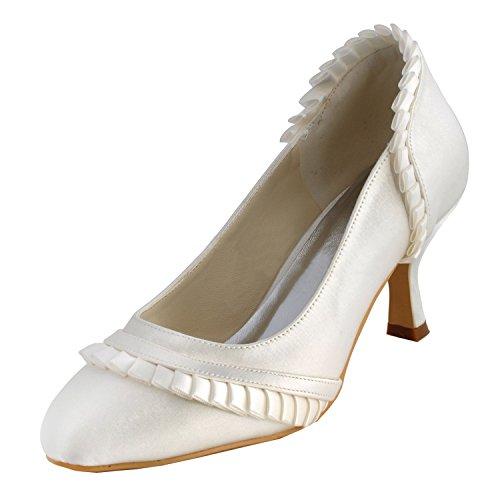 Tacco White Heel 6 5cm Minitoo Col Scarpe Donna qOxE4f47