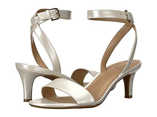 Naturalizer Women's Tinda White Pearl Leather 7 AA US