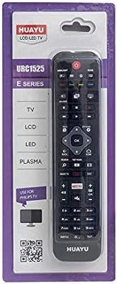 Universal para Control Remoto de reemplazo de TV Philips: Funciona con Todos los televisores Philips Control Remoto de reemplazo de TV Ideal, Funciones de TV AMBILIGHT Net: Amazon.es: Electrónica