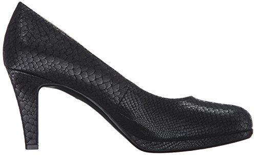 Women's Snake Michelle Pumps Naturalizer Black vn81axxzW