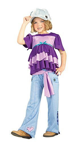 Girls Holly Hobbie Kids Child Fancy Dress Party Halloween Costume, 2T-4T -
