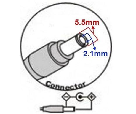 Cable Adaptador Cambia Polaridad Invierte Positiva <> Negativa 5.5mm 2.1mm: Amazon.es: Electrónica