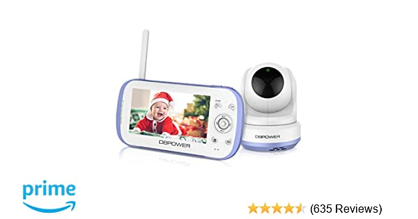 6df9d21447a Amazon.com   DBPOWER Video Baby Monitor