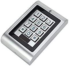 RFID//Pines Secukey sk1-w Control Acceso Standalone IP66 Plateado rel/é apriporta Integrado