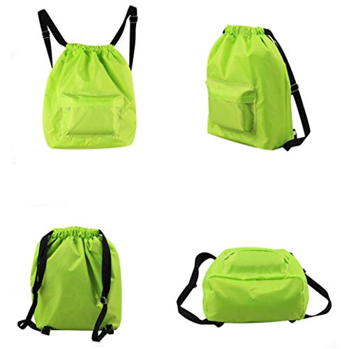 Waterproof Pool Backpack Wet Green Drawstring Dry Swimming Separation and EUzeo Swim nYWzpqvOv