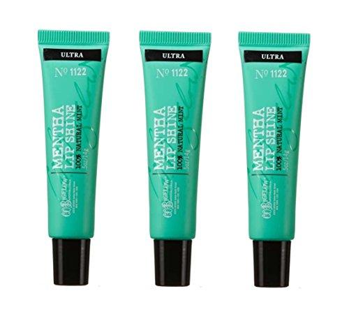 (Bath & Body Works C.O. Bigelow Mentha Lip Shine Ultra #1122 3 Pack)