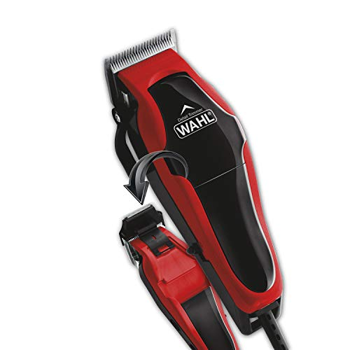 Wahl Clipper Clip n Trim 2 In 1 Hair Cutting Clipper Trimmer Kit with Self Sharpening Blades 79900-1501