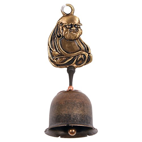 Cast Vintage Antique Brass Dharma Spring B Door Bell Shop keeper by eorangehill