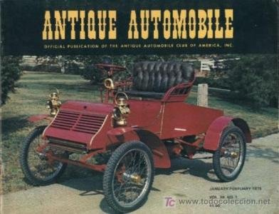 1903 AMERICAN MOTOR CAR MODEL A RUNABOUT - 4 PAGE NON-COLOR ARTICLE + COLOR COVER - IN ENGLISH !!! -