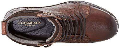 Marrone Uomo Classici Brown Dk Lumberjack Stivali Ce002 Roman wtqcEEI6R