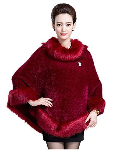 Charmly - Abrigo - para mujer Rojo