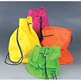 Neon Non-Woven Drawstring Bags 1 ct Review