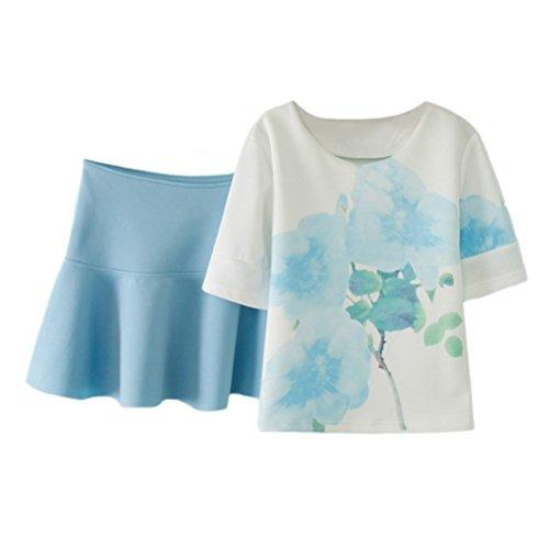 Jewel Neck Skirt Suit - 6