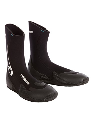 Typhoon Vortex 5mm GBS Round Toe Boot Black 300320