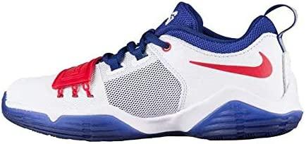 Nike PG 1 White//University Red Paul George 880304-164 Grade-School SZ 7Y