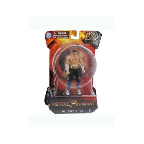 Johnny Cage Mortal Kombat 9 Action Figure (4 Inch)