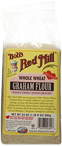 - Bob's Red Mill Flour Graham, 24-ounces (Pack of4)