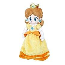 "Little Buddy 1419 Super Mario All Star Collection Daisy 9.5"" Stuffed Plush"
